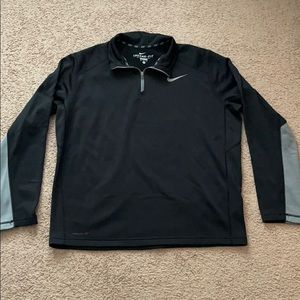 Nike black and gray pullover